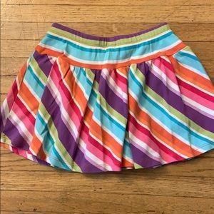 Gymboree Bottoms - Gymboree Rainbow Skort size 6